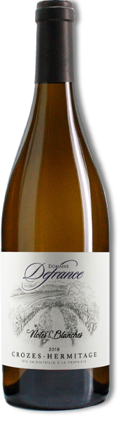 Notes Blanches domaine Defrance