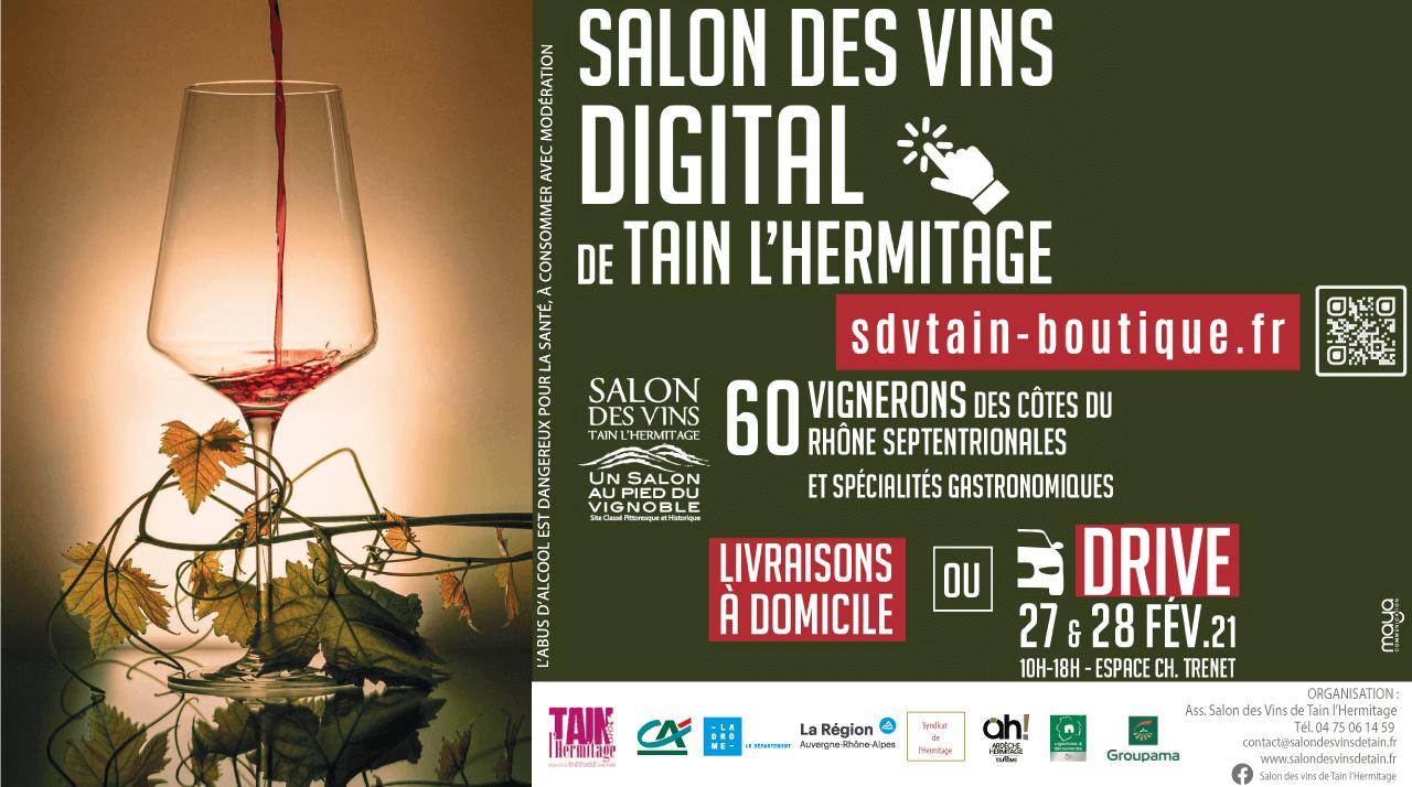 LE SALON DIGITAL DES VINS DE TAIN : NOUVEAU CONCEPT !