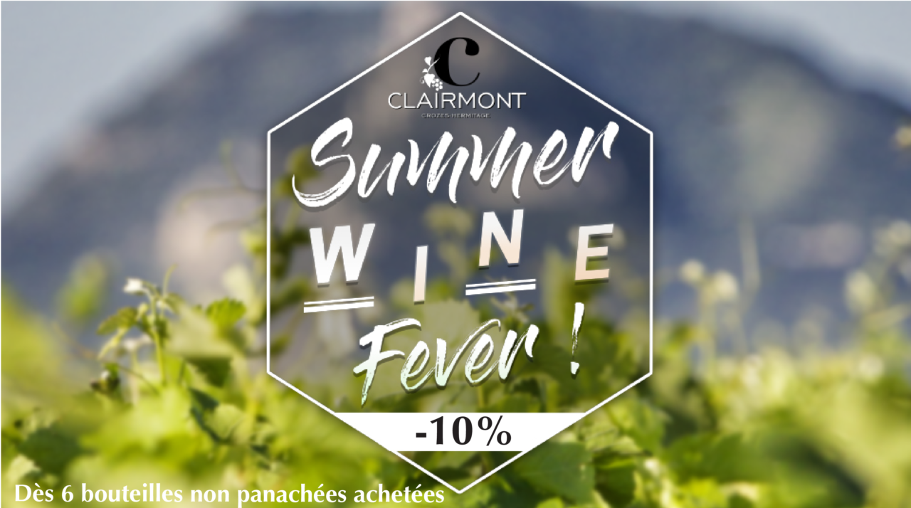 Les vins de la cave des clairmonts